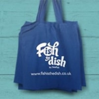 free-fish-in-dish-canvas-tote-bag